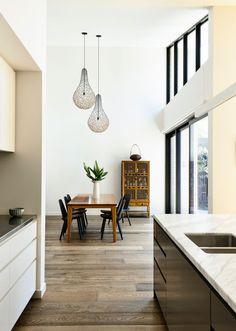 A Modern House in Australia With A Central Courtyard via @designmilk