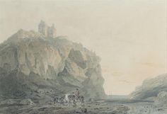 Dunotter Castle, Kincardineshire. Joseph Mallord William Turner