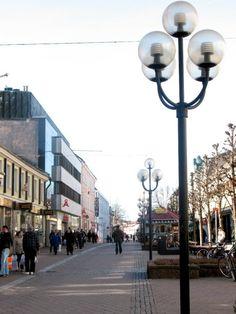 downtown Växjö