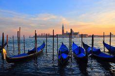 Sunset in Venice, Venezia by natureloving, via Flickr