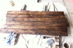Build a Rustic Sofa Table -