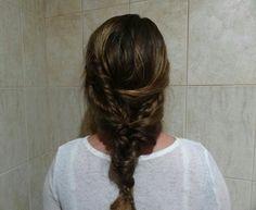 Intricate ponytail