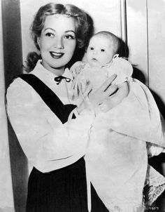 Ann Sothern and daughter Tisha.