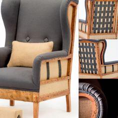 Cadeiras Reupholster Furniture, Furniture Upholstery, Furniture Making, Diy Furniture, Furniture Design, Diy Sofa, Corner Sofa Design, Muebles Living, Sofa Frame