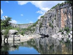 Ardèche - Cirque des Gens by lis of the north, via Flickr Places Worth Visiting, Beaux Villages, Destination Voyage, Rhone, Holiday Time, France Travel, Mother Earth, Places To See, Mount Rushmore