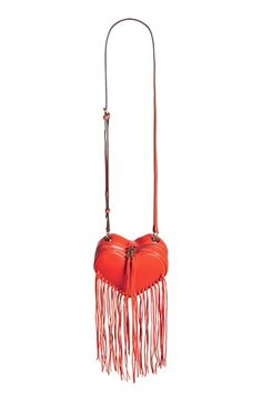 Rebecca Minkoff Heart Fringe Crossbody Bag available at #Nordstrom