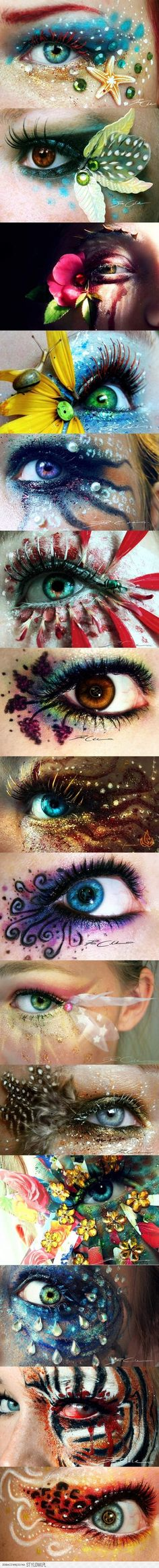 Incredible eye makeup art  #WinWayneGossTheCollection