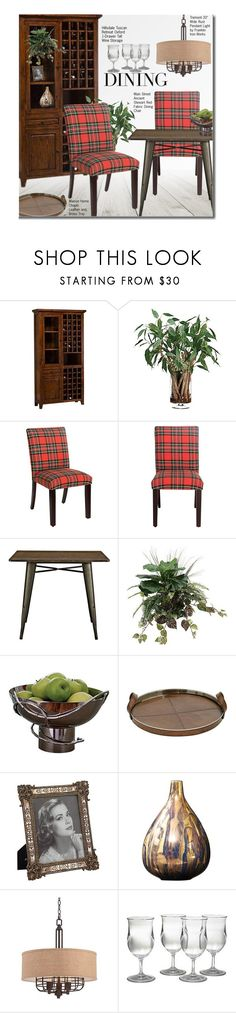 """""""Check It: Plaid"""" by beebeely-look ❤ liked on Polyvore featuring interior, interiors, interior design, home, home decor, interior decorating, FingerPrint Jewellry, Franklin Iron Works, plaid and homedecor"""