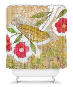 It's okay to color outside the lines with the adorable looks of the Deny Designs Cori Dantini Vibrant Crayon Shower Curtain . The bright and cheery. Bird Shower Curtain, Cool Shower Curtains, Bird Bathroom, Modern Bathroom, Contemporary Shower, Shower Liner, Curtains With Rings, To Color, Bird Design