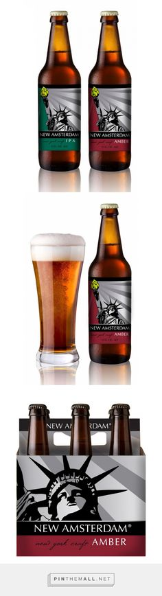 New Amsterdam Craft Ale on Packaging of the World - Creative Package Design Gallery - created via http://pinthemall.net