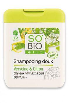 Shampooing Bio Verveine Citron SO'BiO étic
