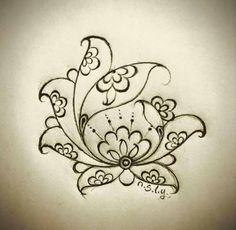 Pottery Painting, Fabric Painting, Mandala Painting, Hand Embroidery Designs, Embroidery Patterns, Pattern Art, Pattern Design, Turkish Art, Amazing Drawings