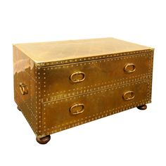 Sarreid Brass Chest just purchased on my trip to Tampa for only $75.  Call the cops, cause I just stole this beauty.  Perfect cocktail table for the new bungalow.