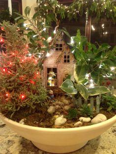 christmas fairy garden fairy garden pots garden whimsy fairy gardens christmas fairy