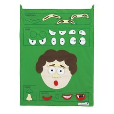 Promote healthy self-esteem with this fantastic Feelings Chart. The chart is hook and loop compatible and includes felt features to demonstrate various facial expressions. Great for exploring feelings and emotions. This is the perfect classroom resource,