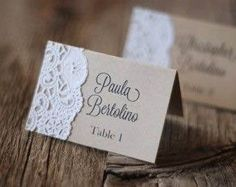 Handmade Rustic Tented Table Place Card Setting - Custom - Escort Card - Shabby Chic - Vintage Burlap and Lace Wedding Escort Cards - Gift Tag - Menu - Meal Choice? Chic Wedding, Wedding Table, Wedding Favors, Rustic Wedding, Wedding Decorations, Wedding Invitations, Trendy Wedding, Wedding Vintage, Table Decorations