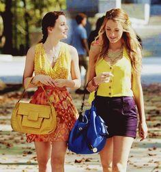 Gossip Girl showing true friendships plus blair