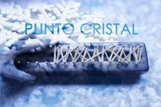 Punto Cristal en telar maya/ Crystal stitch on loom