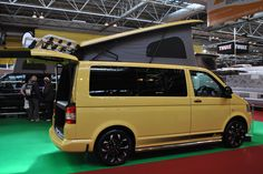 Glossop Awnings on Twitter: Mellow Yellow #VW #T5 #traveller #campervan