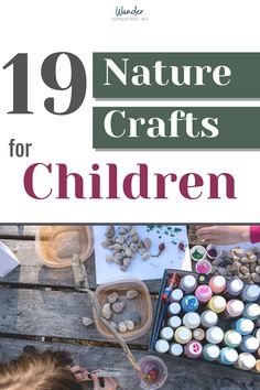 Our homeschool family loves to go on nature walks and make crafts. Find out the best crafts for kids using nature. 19 Best Nature Crafts for Kids - Wander Homeschooling Summer Camp Crafts, Camping Crafts, Summer Diy, Camping Theme, Fox Crafts, Nature Crafts, Toddler Crafts, Crafts For Kids, How To Start Homeschooling