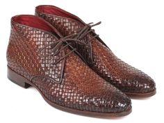 Latest from Paul Parkman: Paul Parkman Luxury Handmade Shoes Men's Brown Woven Calf-skin Leather Chukka Boots Material:Woven Calf-skin Leather Men's Shoes, Shoe Boots, Shoes Men, Dress Shoes, Coronado Leather, High End Shoes, Leather Chukka Boots, Brown Boots, Designer Shoes