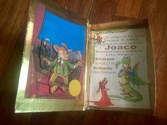 Invitación en forma de libro Gran libro del Reino de la Fantasía  Geronimo Stilton