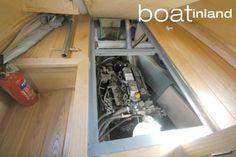 Image result for narrowboat engine room