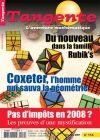 Tangente n°114 janv fev 2007  [Du nouveau dans la famille Rubik's] [Coxeter, l'homme qui sauva la géométrie]