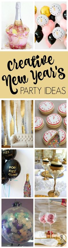 25 Best Ever New Year's Eve Party Ideas on Pretty My Party: