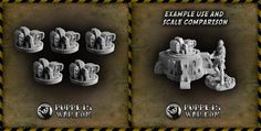Today we released Security Points. Set contains 5 of them, they are fully compatible with our vehicles. https://puppetswar.eu/product.php?id_product=635
