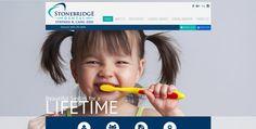 #sesamewebdesign #sds #dental #responsive #olive #blue #green #sans