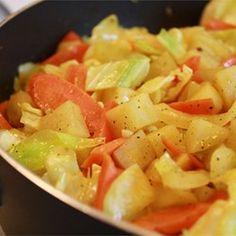 Ethiopian Cabbage Dish - Allrecipes.com