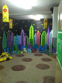 I LOVE to decorate for VBS! Sadly, I don't usually do anything small. I think because I got saved at VBS as a child. At that time my fam...