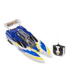 Wave Ripper Remote Control Boat by World Tech Toys #zulily #zulilyfinds