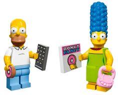 Nuevas mini-figuras de Lego Simpson
