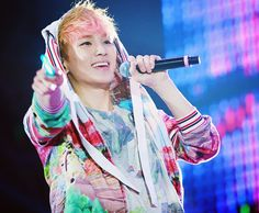 Key with his pink hair. :3