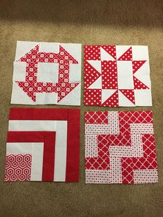 Pat Sloan 2017 solstice blocks - need theme and I like this - just pick two colors!