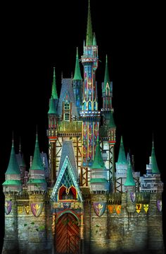 Cinderella Castle to Transform into Arendelle for 'Celebrate the Magic' - Frozen takes over Disney World