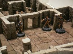 Capochino - A dungeon set compatible with Dwarven Forge