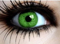 Off coloured contacts lenses and freaky eye contacts from non prescription contacts to colored contact lenses Cool Contacts, Green Contacts Lenses, Gorgeous Eyes, Pretty Eyes, Cool Eyes, Green Colored Contacts, Coloured Contact Lenses, Eye Contact Lenses, Halloween Contacts