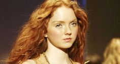 Lovely Lily Cole is the model of the moment. She's beautiful, she's brainy (she's just won a place at Oxford University) and she's a redhead.