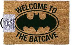 En la Expo de #artofthebrickDC vendían este felpudo y me enamoré. Pero no a 45€... en Amazon menos de la mitad :) Welcome to the Batcave