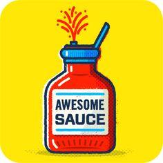Google Awesome Sauce Illustration