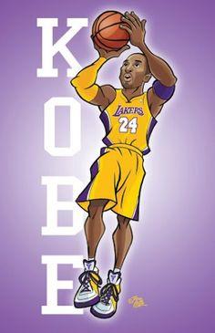Kobe Caricature