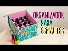 Diy box from scratch. Diy And Crafts, Paper Crafts, Craft Station, Make Up Storage, Ideas Geniales, Diy Cardboard, Diy Box, Diy Videos, Organization Hacks