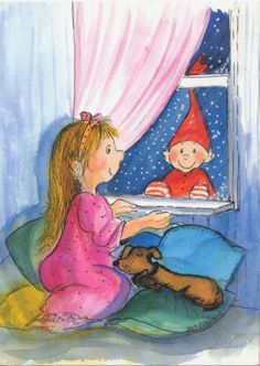 Christmas Illustration by Virpi Pekkala