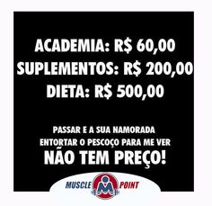 Diferencie-se .... #MusclePoint #Humor