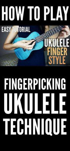 Ukulele fingerpicking video
