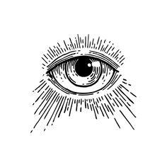 16 Tattoo, Doodle Tattoo, 3rd Eye Tattoo, All Seeing Eye Tattoo, Thigh Tattoo Men, Happy Tattoo, Mini Tattoos, Small Tattoos, Cool Tattoos