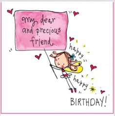 40 Friends Forever Quotes Best Birthday Wishes for Your Best Friend 34 Happy Birthday Dear Friend, Birthday Wishes For Her, Birthday Quotes For Best Friend, Birthday Blessings, Birthday Wishes Quotes, Happy Birthday Greetings, Happy Birthday Images, Birthday Love, Birthday Messages